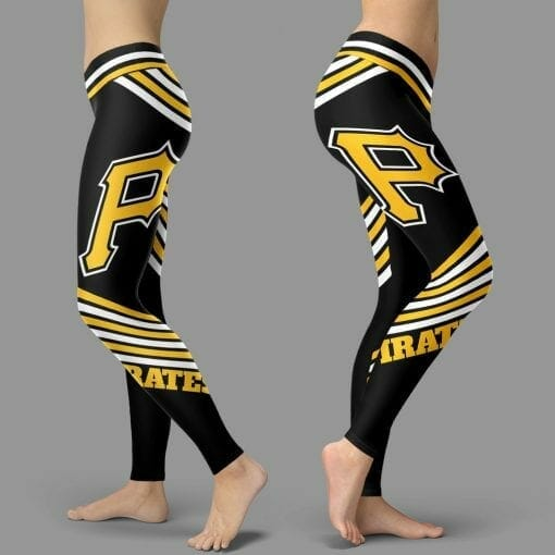 MLB Pittsburgh Pirates Leggings V2