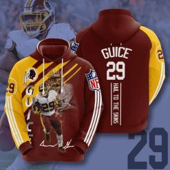 NFL Washington Redskins 3D Hoodie V21
