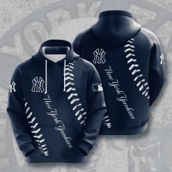 MLB New York Yankees 3D Hoodie V21