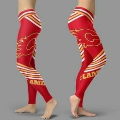 NHL Calgary Flames Leggings V2