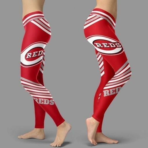 MLB Cincinnati Reds Leggings V2