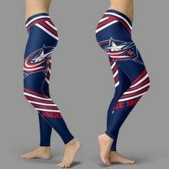 NHL Columbus Blue Jackets Leggings V2