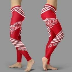 NHL Detroit Red Wings Leggings V2