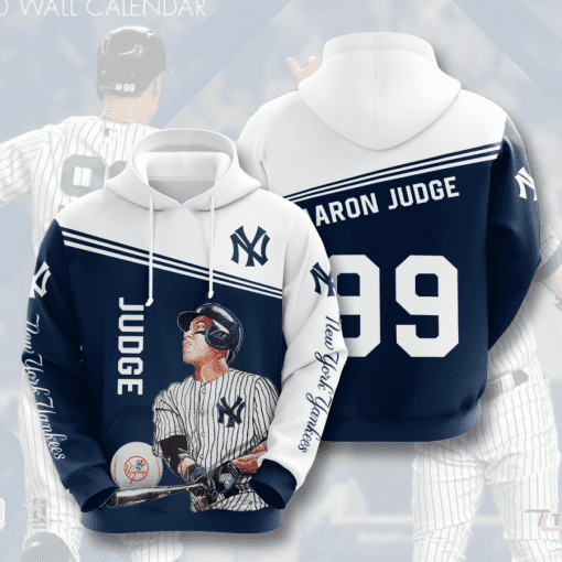 MLB New York Yankees 3D Hoodie V22