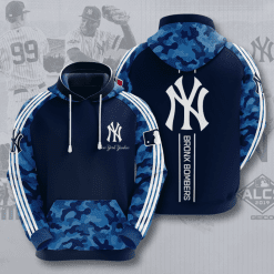 MLB New York Yankees 3D Hoodie V24