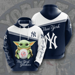 MLB New York Yankees 3D Hoodie V25