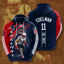 NFL New England Patriots 3D Hoodie V26