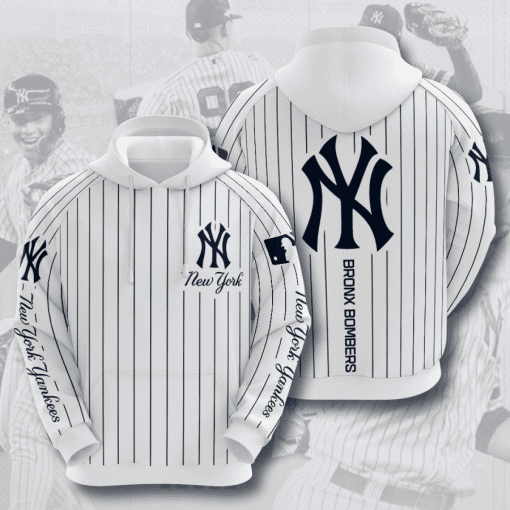 MLB New York Yankees 3D Hoodie V26