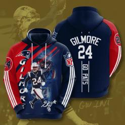 NFL New England Patriots 3D Hoodie V27