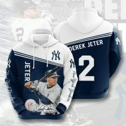 MLB New York Yankees 3D Hoodie V28