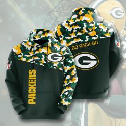 NFL Green Bay Packers 3D Hoodie V3