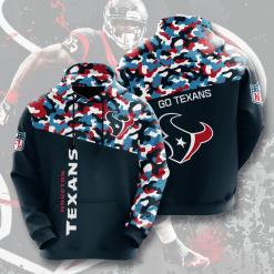 NFL Houston Texans 3D Hoodie V3