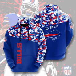 NFL Buffalo Bills 3D Hoodie V3