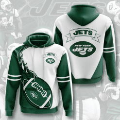 NFL New York Jets 3D Hoodie V3