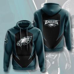 NFL Philadelphia Eagles 3D Hoodie V3