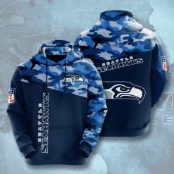 NFL Seattle Seahawks 3D Hoodie V3