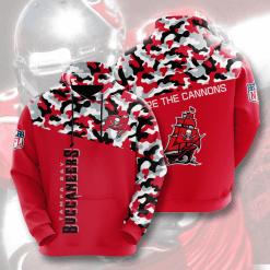 NFL Tampa Bay Buccaneers 3D Hoodie V3