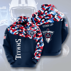 NFL Tennessee Titans 3D Hoodie V3
