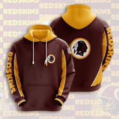 NFL Washington Redskins 3D Hoodie V3