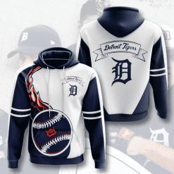 MLB Detroit Tigers 3D Hoodie V3