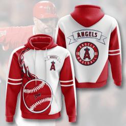 MLB Los Angeles Angels 3D Hoodie V3