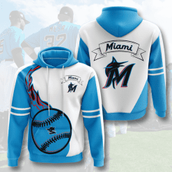 MLB Miami Marlins 3D Hoodie V3