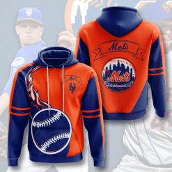 MLB New York Mets 3D Hoodie V3