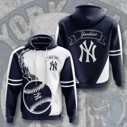 MLB New York Yankees 3D Hoodie V3