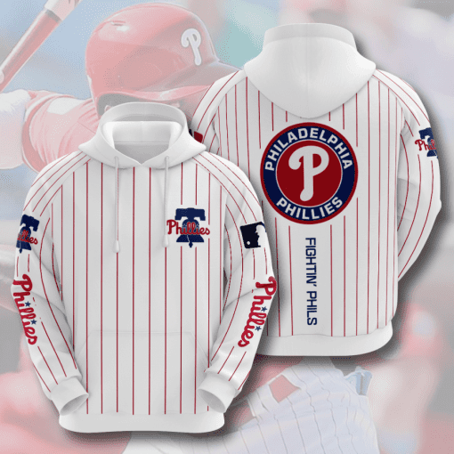 MLB Philadelphia Phillies 3D Hoodie V3