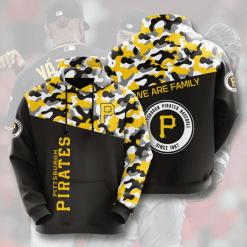MLB Pittsburgh Pirates 3D Hoodie V3