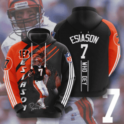 NFL Cincinnati Bengals 3D Hoodie V3