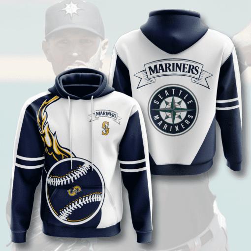 MLB Seattle Mariners 3D Hoodie V3