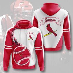 MLB St. Louis Cardinals 3D Hoodie V3