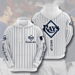MLB Tampa Bay Rays 3D Hoodie V3