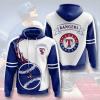 MLB Texas Rangers 3D Hoodie V2