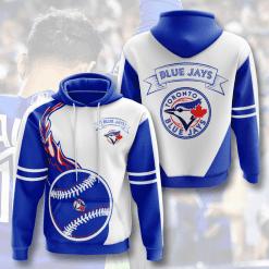 MLB Toronto Blue Jays 3D Hoodie V3