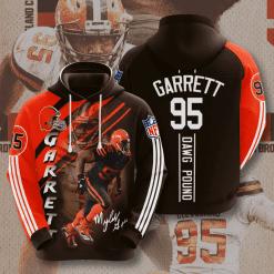NFL Cleveland Browns 3D Hoodie V3