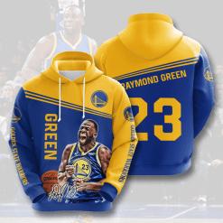 NBA Golden State Warriors 3D Hoodie V3