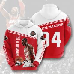 NBA Houston Rockets 3D Hoodie V3