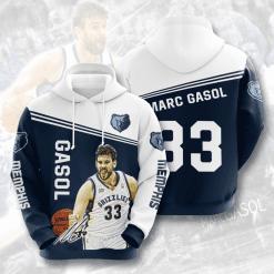 NBA Memphis Grizzlies 3D Hoodie V3