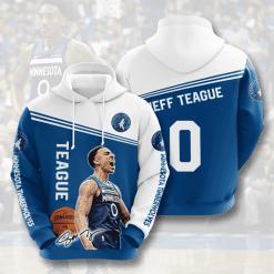 NBA Minnesota Timberwolves 3D Hoodie V3