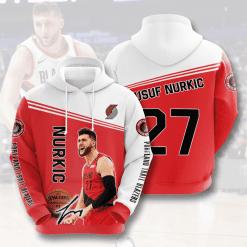 NBA Portland Trail Blazers 3D Hoodie V3
