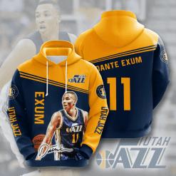 NBA Utah Jazz 3D Hoodie V3