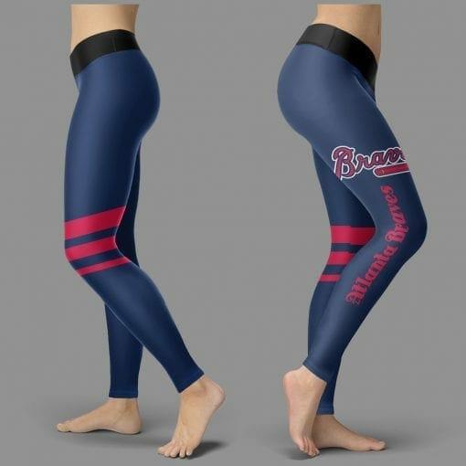 MLB Atlanta Braves Leggings V3