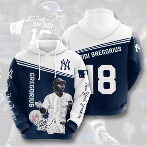 MLB New York Yankees 3D Hoodie V31