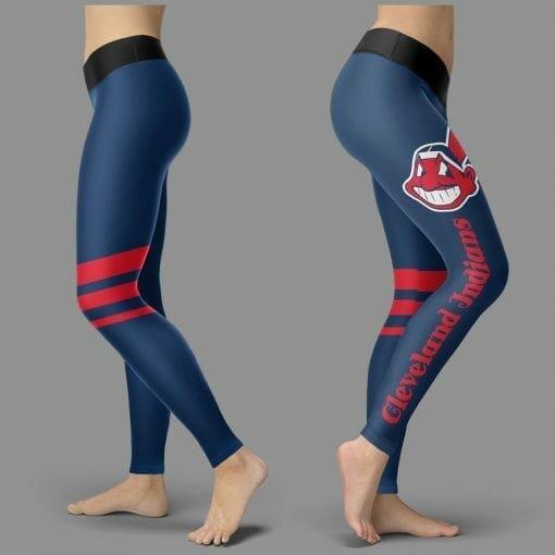 MLB Cleveland Indians Leggings V3