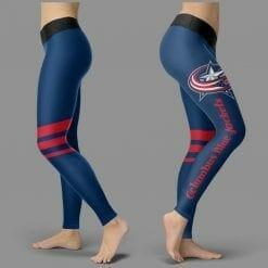 NHL Columbus Blue Jackets Leggings V3