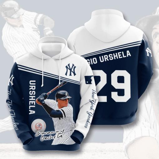 MLB New York Yankees 3D Hoodie V33