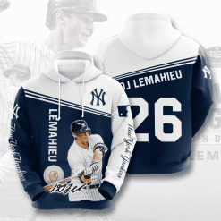 MLB New York Yankees 3D Hoodie V35