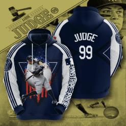 MLB New York Yankees 3D Hoodie V37